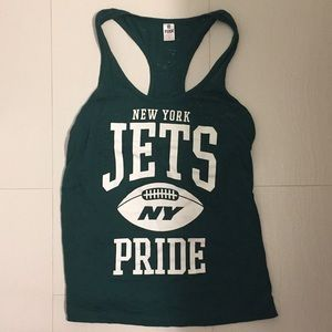 PINK Victoria's secret NFL New York Jets tank top